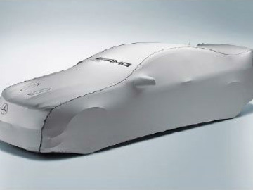 Indoor Car Cover AMG argento